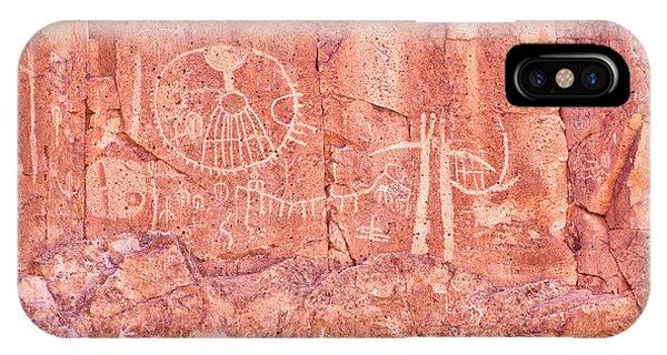 Petroglyphs Owens Valley California IPhone Case