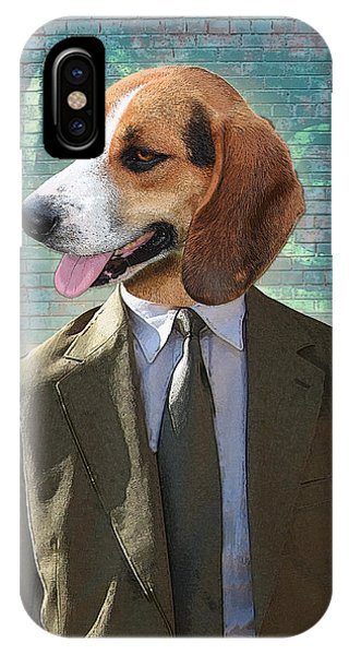 Bricks iPhone Case - Legal Beagle by Nikki Smith