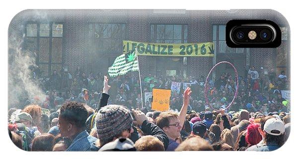 Legalisation Of Marijuana IPhone Case