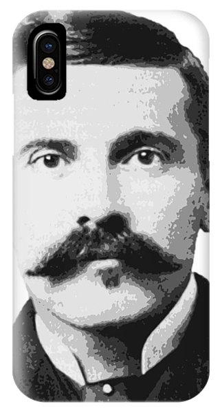 Ok iPhone Case - Legend Doc Holliday by Daniel Hagerman