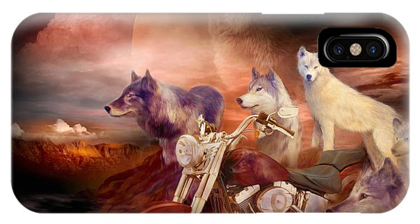 Legend Of Wolf Mountain IPhone Case