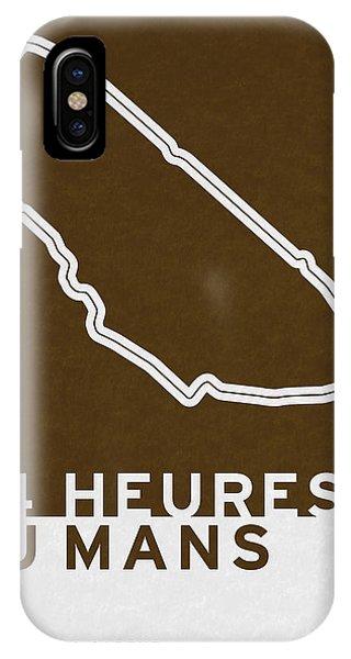 Modern iPhone Case - Legendary Races - 1923 24 Heures Du Mans by Chungkong Art