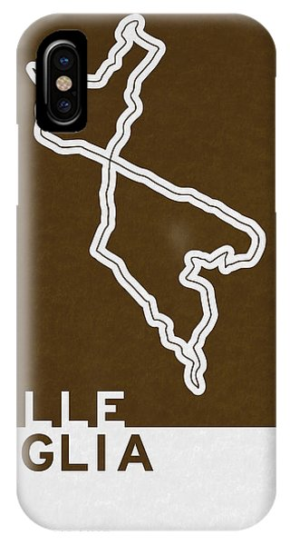Track iPhone Case - Legendary Races - 1927 Mille Miglia by Chungkong Art