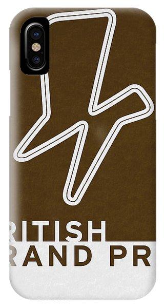 Modern iPhone Case - Legendary Races - 1948 British Grand Prix by Chungkong Art