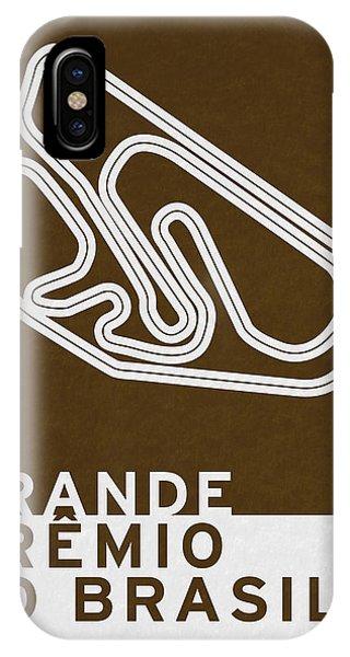 Modern iPhone Case - Legendary Races - 1973 Grande Premio Do Brasil by Chungkong Art