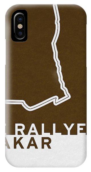 Modern iPhone Case - Legendary Races - 1978 Le Rallye Dakar by Chungkong Art