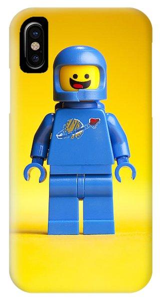 Movie iPhone Case - Lego Movie Benny by Samuel Whitton