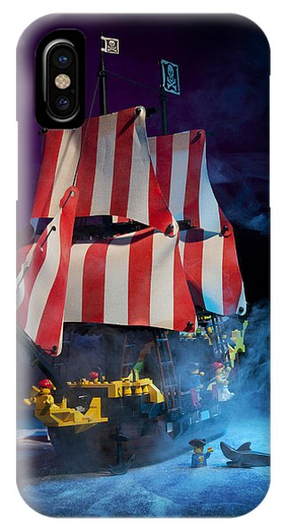Lego Pirate Ship IPhone Case