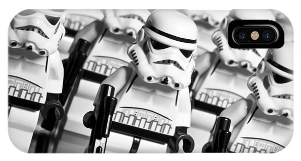 Lego Storm Trooper Army IPhone Case