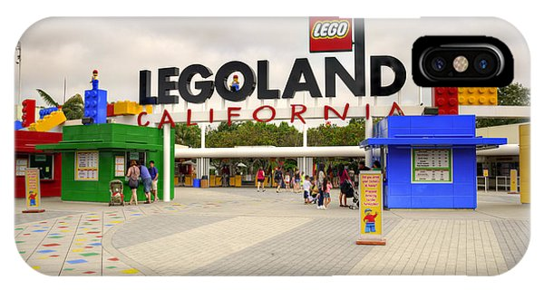 Legoland California IPhone Case