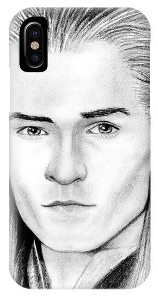 Orlando Bloom iPhone Case - Legolas Greenleaf by Kayleigh Semeniuk