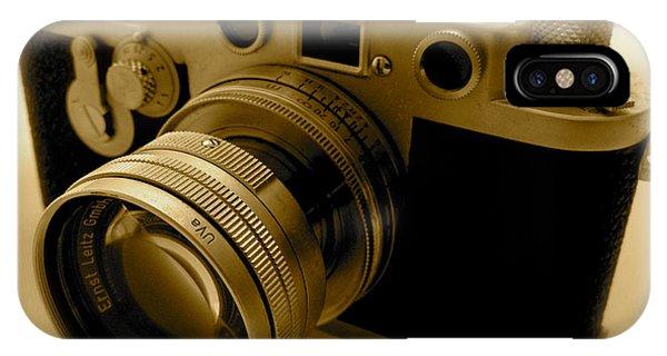 Leica Classic Film Camera IPhone Case