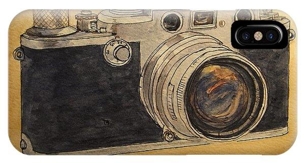 Cameras iPhone Case - Leica IIif by Juan  Bosco