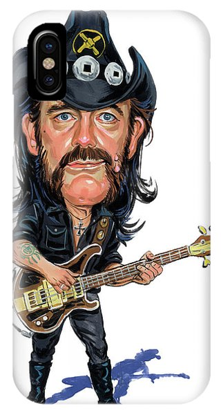 Superior iPhone Case - Lemmy Kilmister by Art