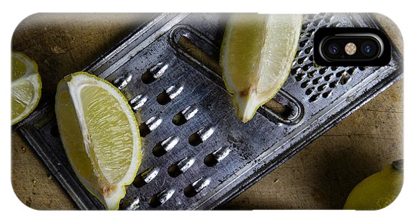 Lime iPhone Case - Lemon And Grater by Nailia Schwarz