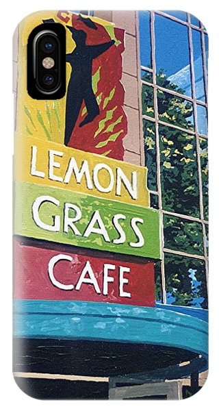 Lemon Grass Phone Case by Paul Guyer