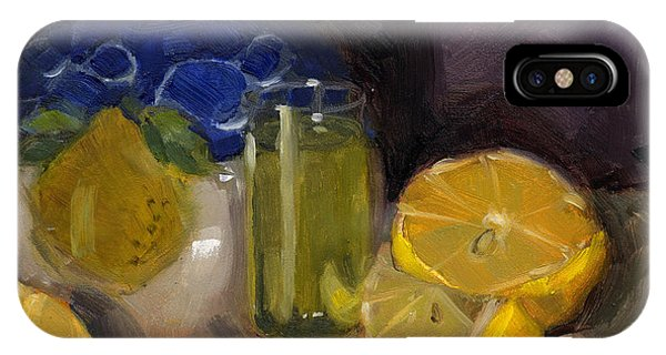 Lemon Light IPhone Case