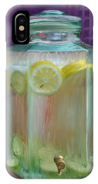 Lemon Limeade IPhone Case