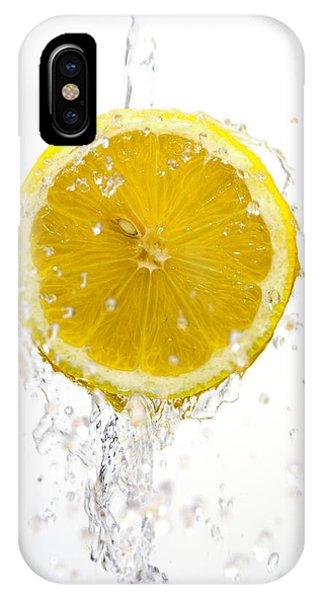 Lemon Splash IPhone Case