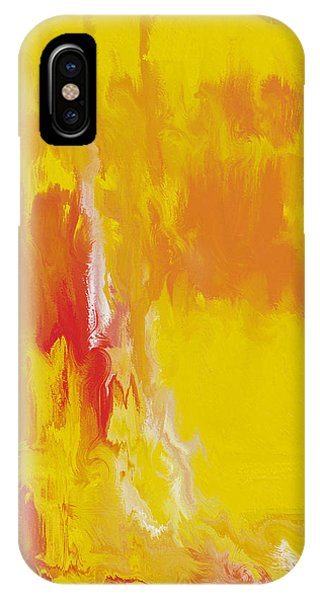 Lemon Yellow Sun IPhone Case