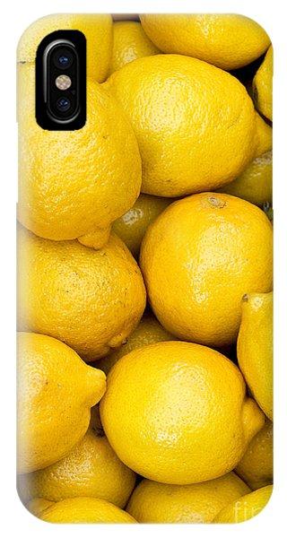 Lemons 02 IPhone Case