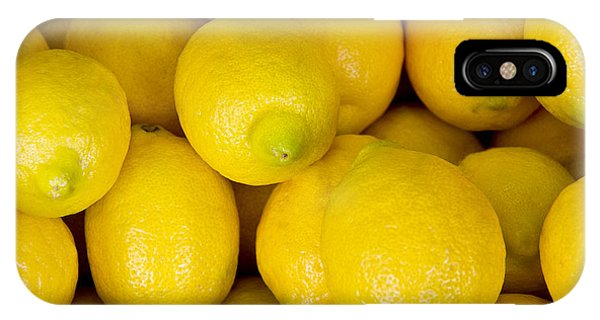 Lemons 1 IPhone Case