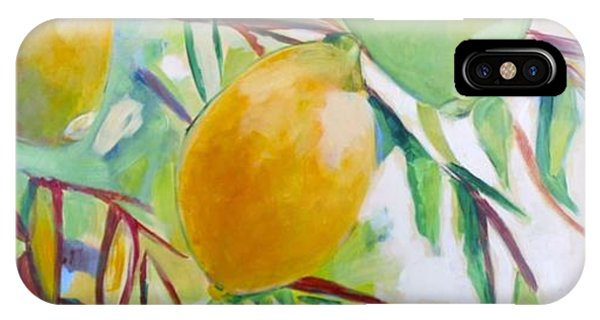 Lemons And Lime IPhone Case