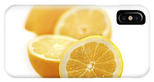 Lemon iPhone Case - Lemons by Elena Elisseeva
