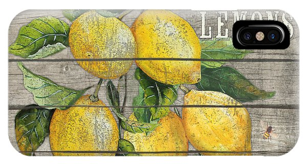 Orchard iPhone Case - Lemons-jp2679 by Jean Plout