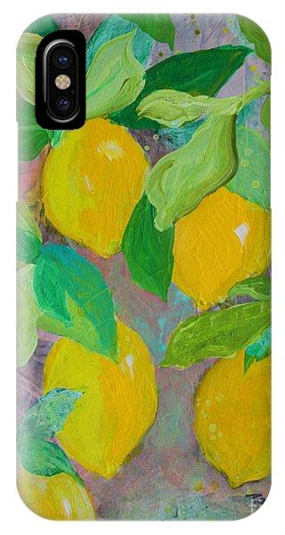 Lemons On Lemon Tree IPhone Case