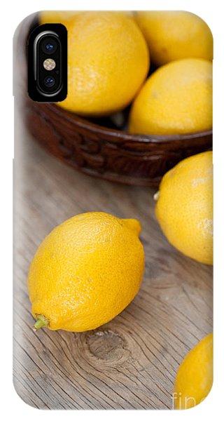 Summer Fruit iPhone Case - Lemons by Viktor Pravdica