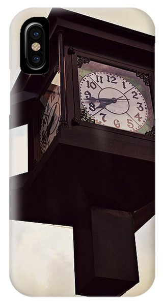 Lenoir North Carolina Town Clock IPhone Case