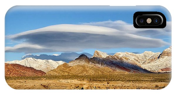 Lenticular Cloud Red Rock Canyon IPhone Case
