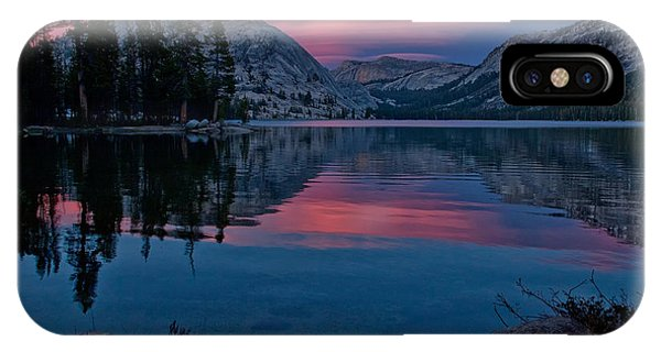 Lenticular Sunset At Tenaya IPhone Case