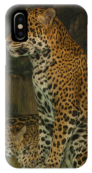 Carcass iPhone Case - Leo And Friend by Jack Zulli