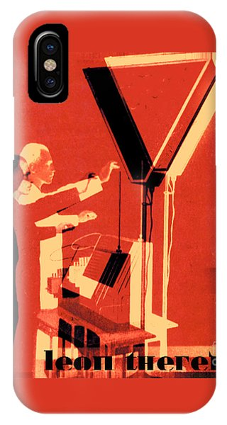 Leon Theremin IPhone Case