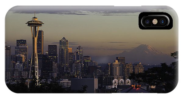 Downtown Seattle iPhone Case - Leona by Ryan McGinnis