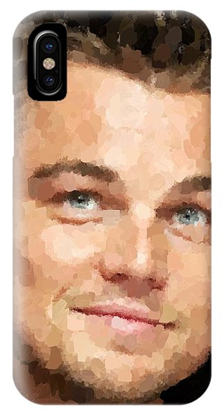 Leonardo Dicaprio Portrait IPhone Case
