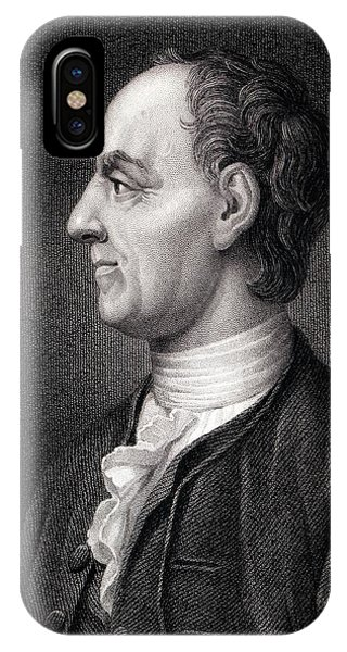 Head And Shoulders iPhone Case - Leonhard Euler by Paul D Stewart
