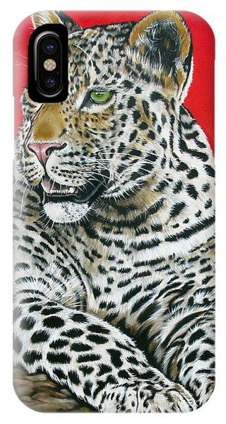 Leopard Phone Case by Ilse Kleyn