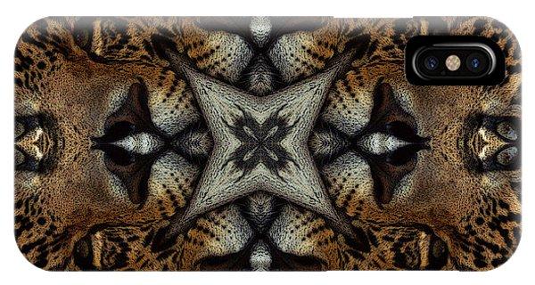 Leopard Kaleidoscope  IPhone Case