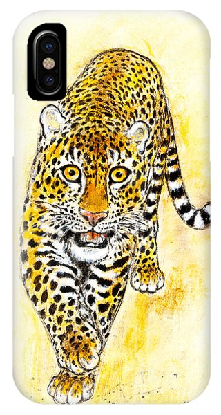 Leopard Phone Case by Kurt Tessmann