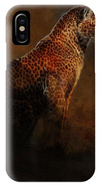 Leopard iPhone Case - Leopard Portrait by Aaron Blaise