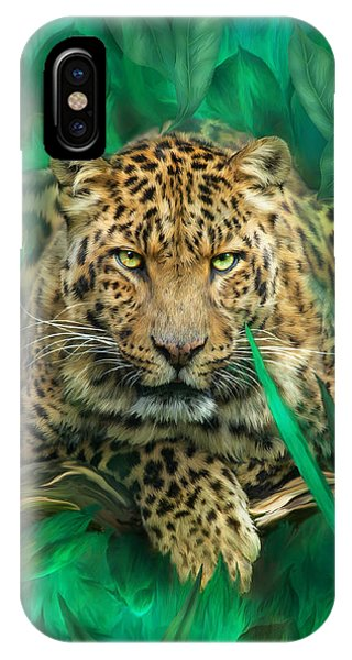 Leopard - Spirit Of Empowerment IPhone Case