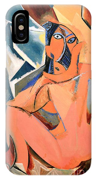 Les Demoiselles D'avignon Picasso Detail IPhone Case