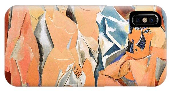 Les Demoiselles D'avignon Picasso IPhone Case