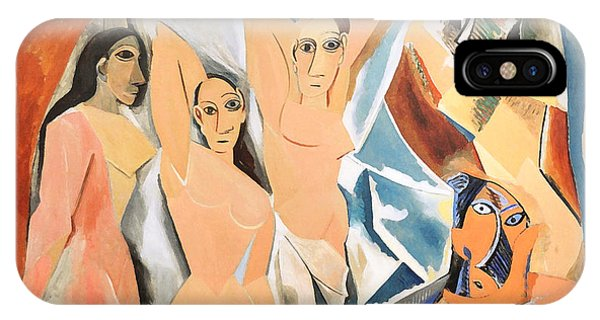 Les Demoiselles D'avignon Picasso IPhone Case