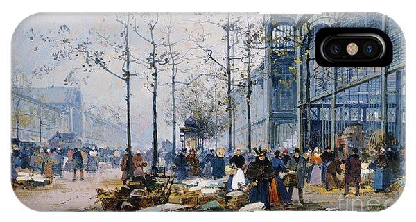 Les Halles Paris IPhone Case