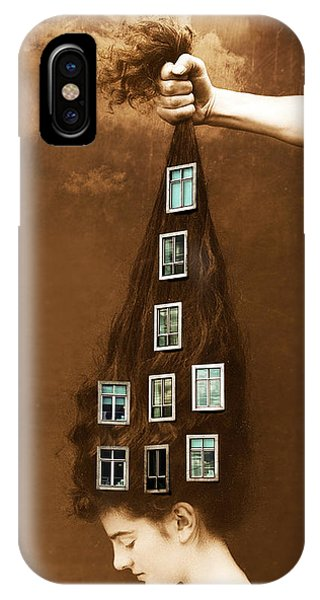Les Promesses D'une Chevelure - Head Of Hair Promises IPhone Case