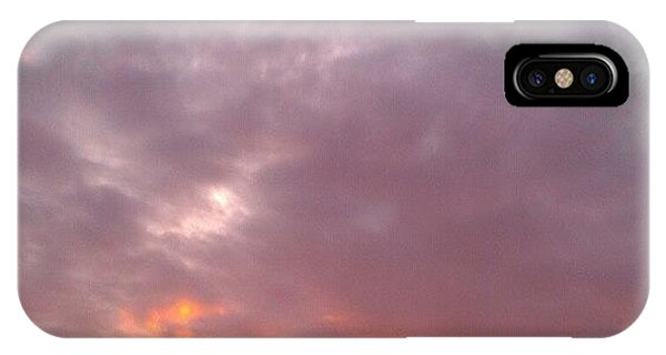 Beautiful Sunrise iPhone Case - Les Trois Soeurs by CML Brown